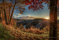 Letchworth Overlook Pano 2013