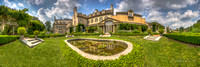 George Eastman House East Garden Panoramic view